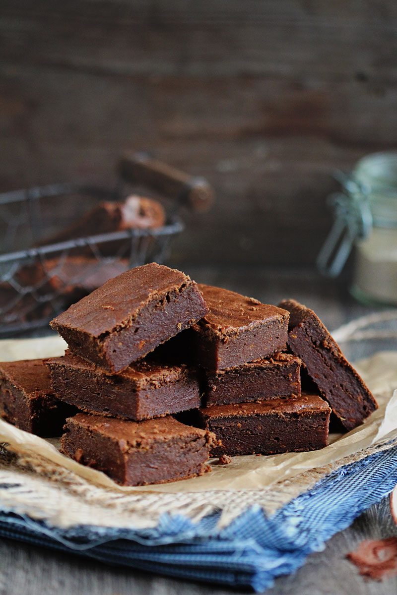 Gluten-Free Sweet Potato Brownies | The Awesome Green