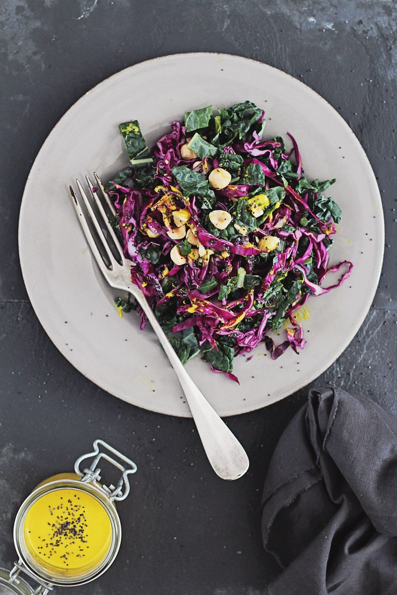 Kale-and-Red-Cabbage-Slaw