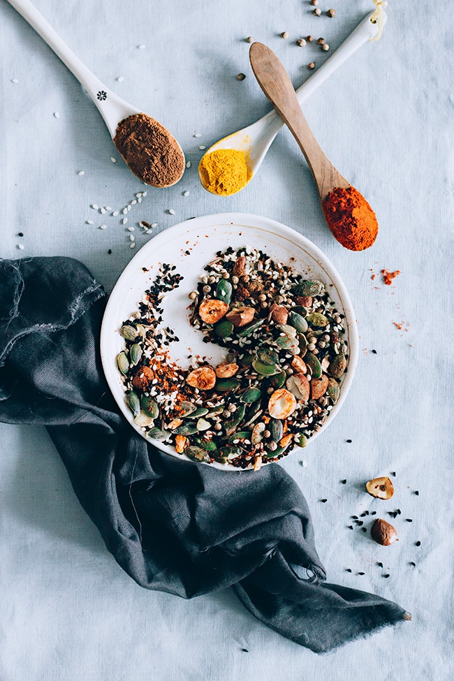 Spice and Seed Mix for Detox Soups