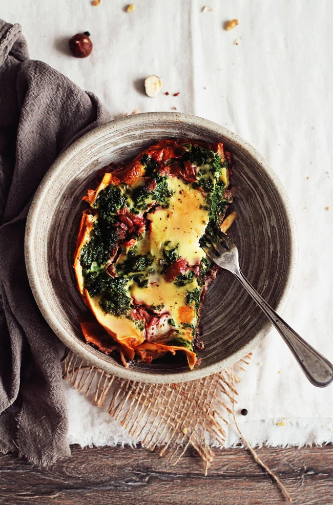 Skinny Vegetarian Lasagna With Mushroom Ragu And Spinach