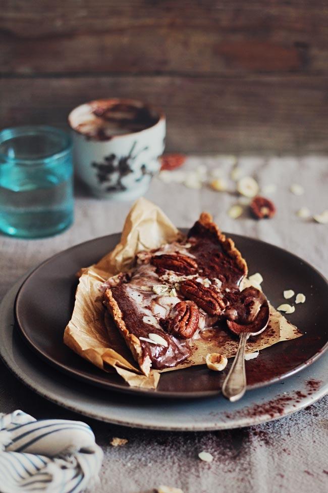Hazelnut-Butter-Chocolate-Tart