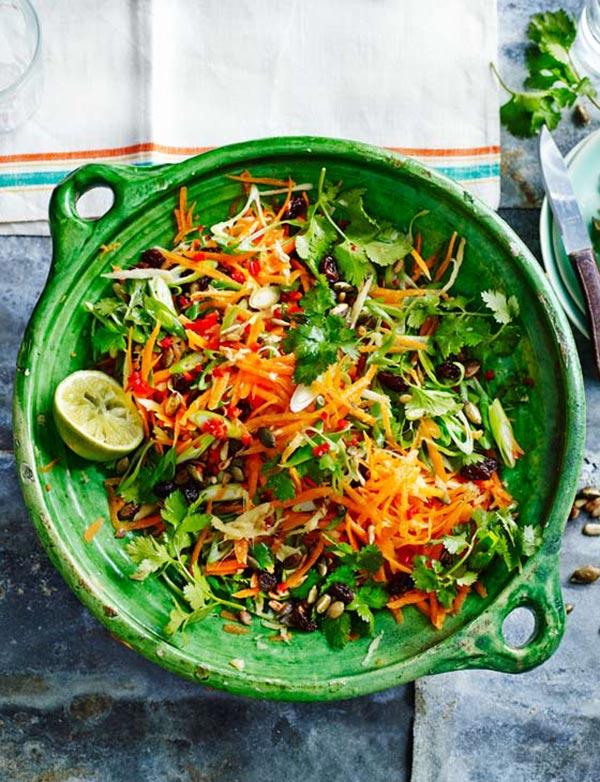 zingy-carrot-salad-sainsbury-magazine