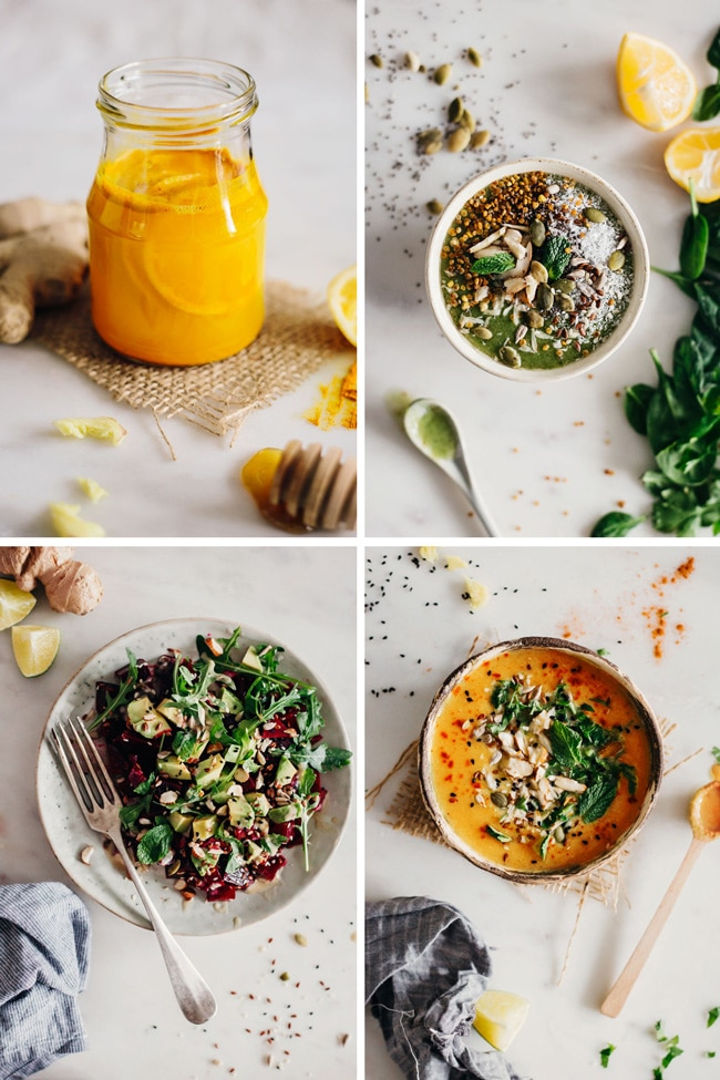 A very simple 1-Day Detox, made with nourishing ingredients from your pantry #detox #cleanse #nourishing | TheAwesomeGreen